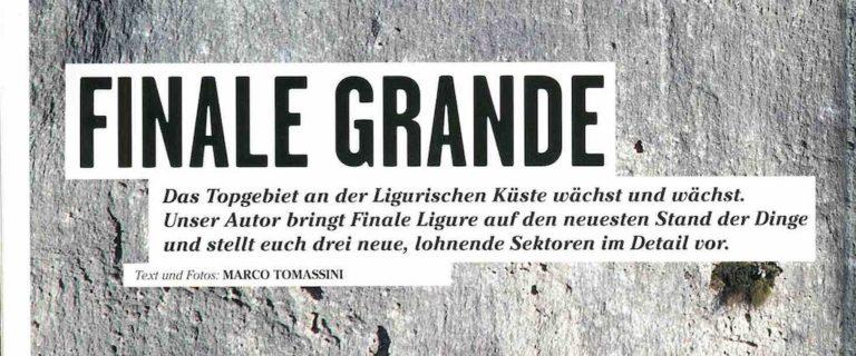 Articolo Thomas Klettern Magazin