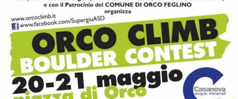 Orco Climb Boulder Contest
