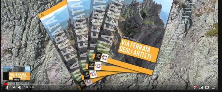 Slide Show Presentation video of the Via Ferrata of the Artists